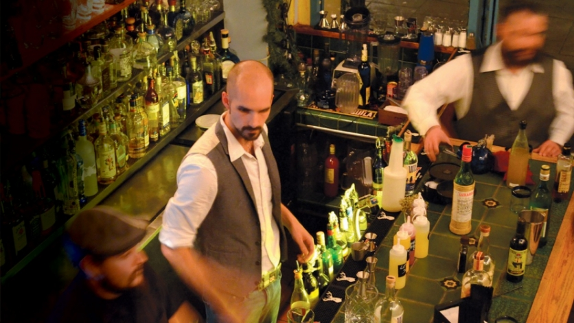 Sam Gay, head bartender at Jimmy's Pub at the Ojai Valley Inn and Spa