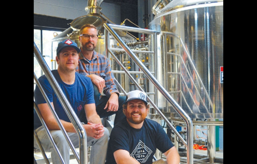 The founders of Topa Topa Brewing Company
