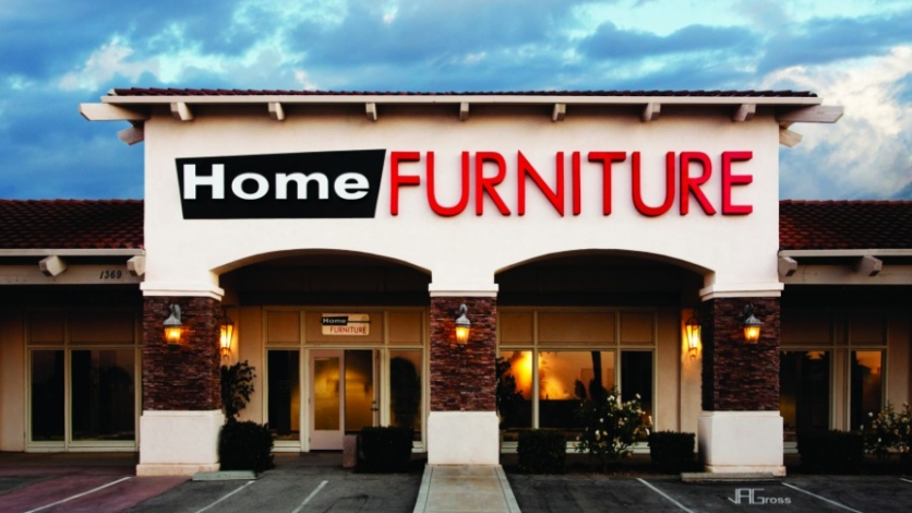 home furniture storefront
