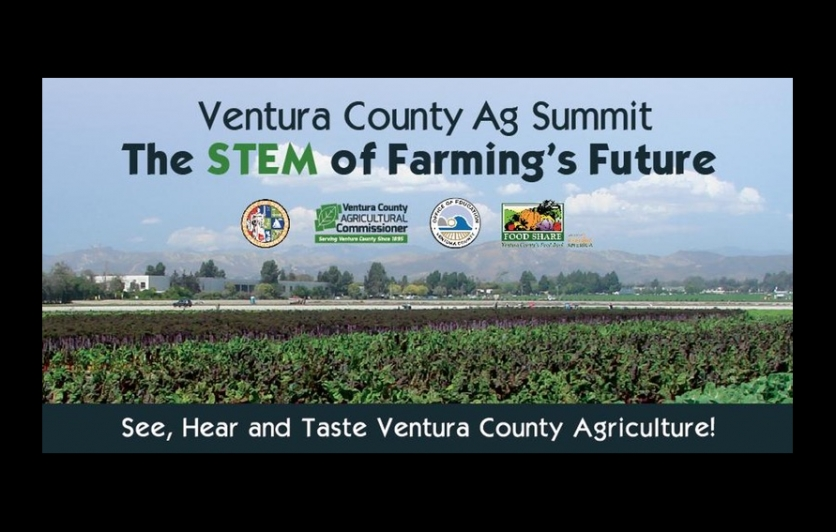 ventura county agriculture summit flyer