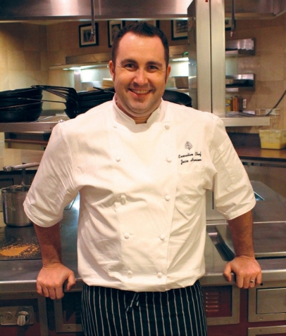 Jesse Hansen, the new executive chef of the Four Seasons Westlake Village
