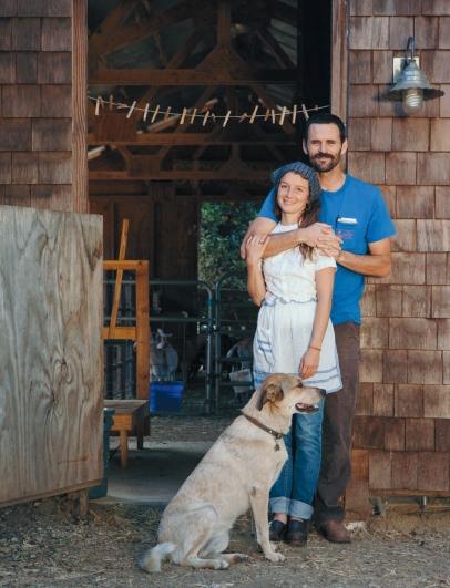 Grace and Dan Malloy of Poco Farm in Meiners Oaks.