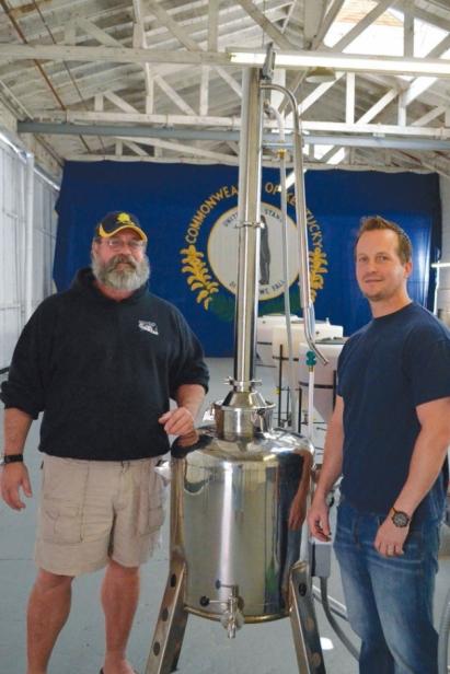 Michael Machuzak and Joe Freas of Channel Islands Distillery in Ventura